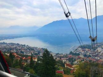 view dari cable-car